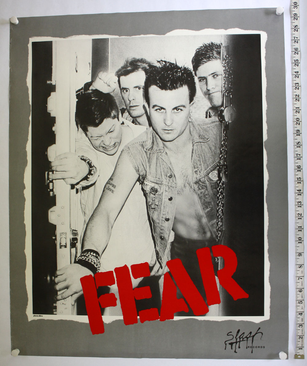 FEAR The Record POSTER