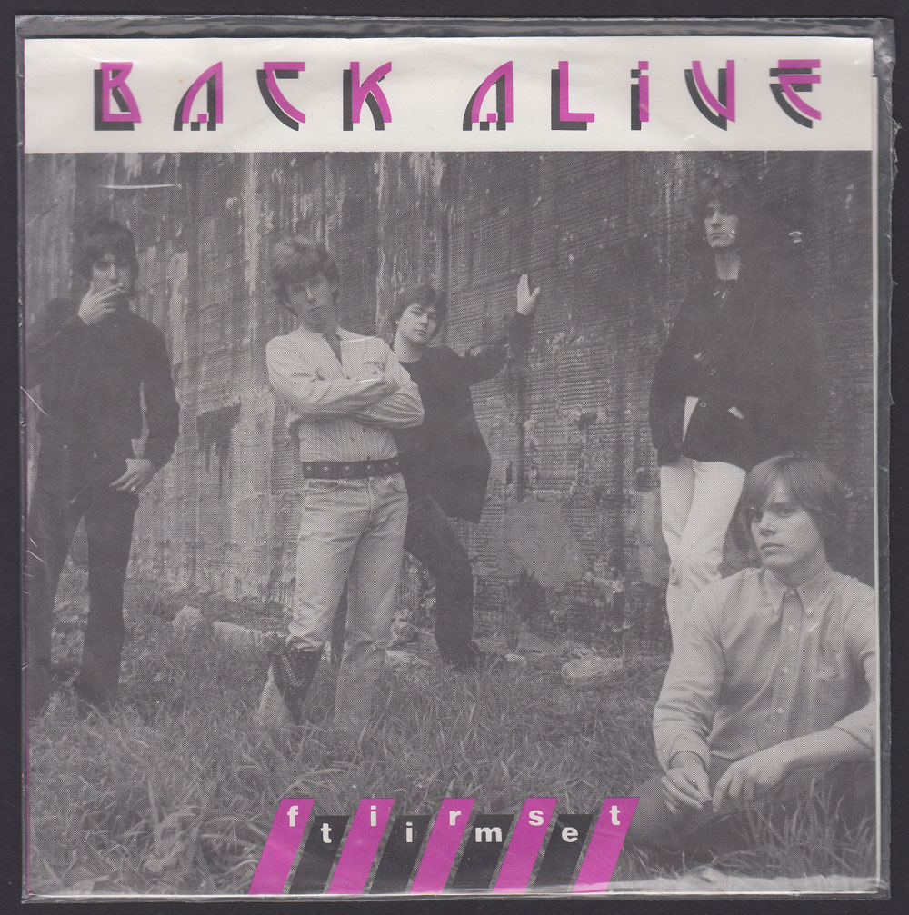 BACK ALIVE ~ First Time EP (Big Cheese 1983)