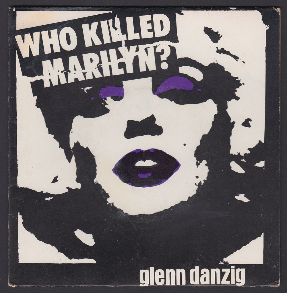GLENN DANZIG ~ Who Killed Marilyn? 7in. (Plan 9 Records 1981)