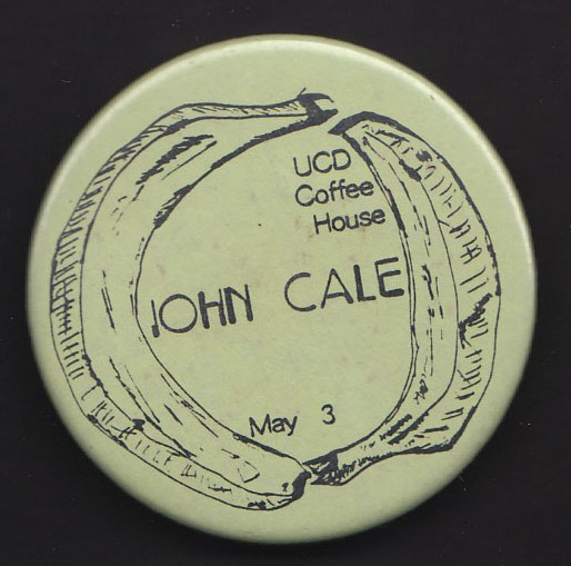 JOHN CALE badge
