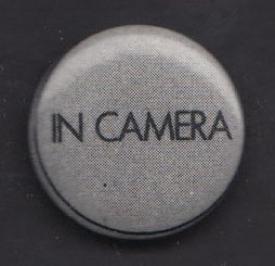 IN CAMERA badge