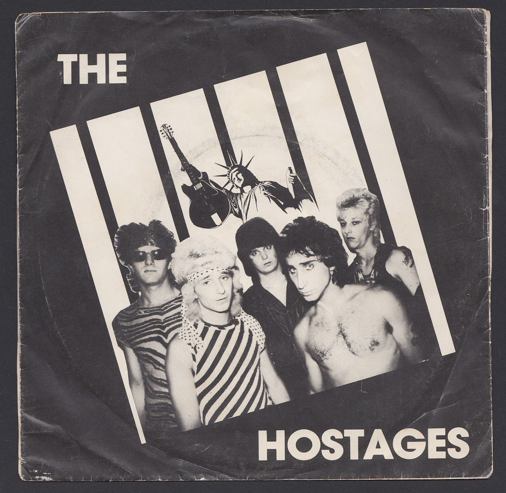 HOSTAGES ~ 4-song EP (Horror City 1983)