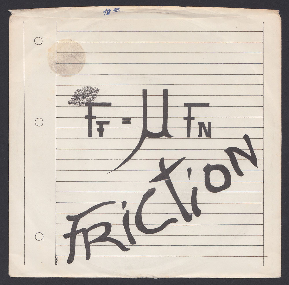 FRICTION ~ 4-song EP (Applause 1981)