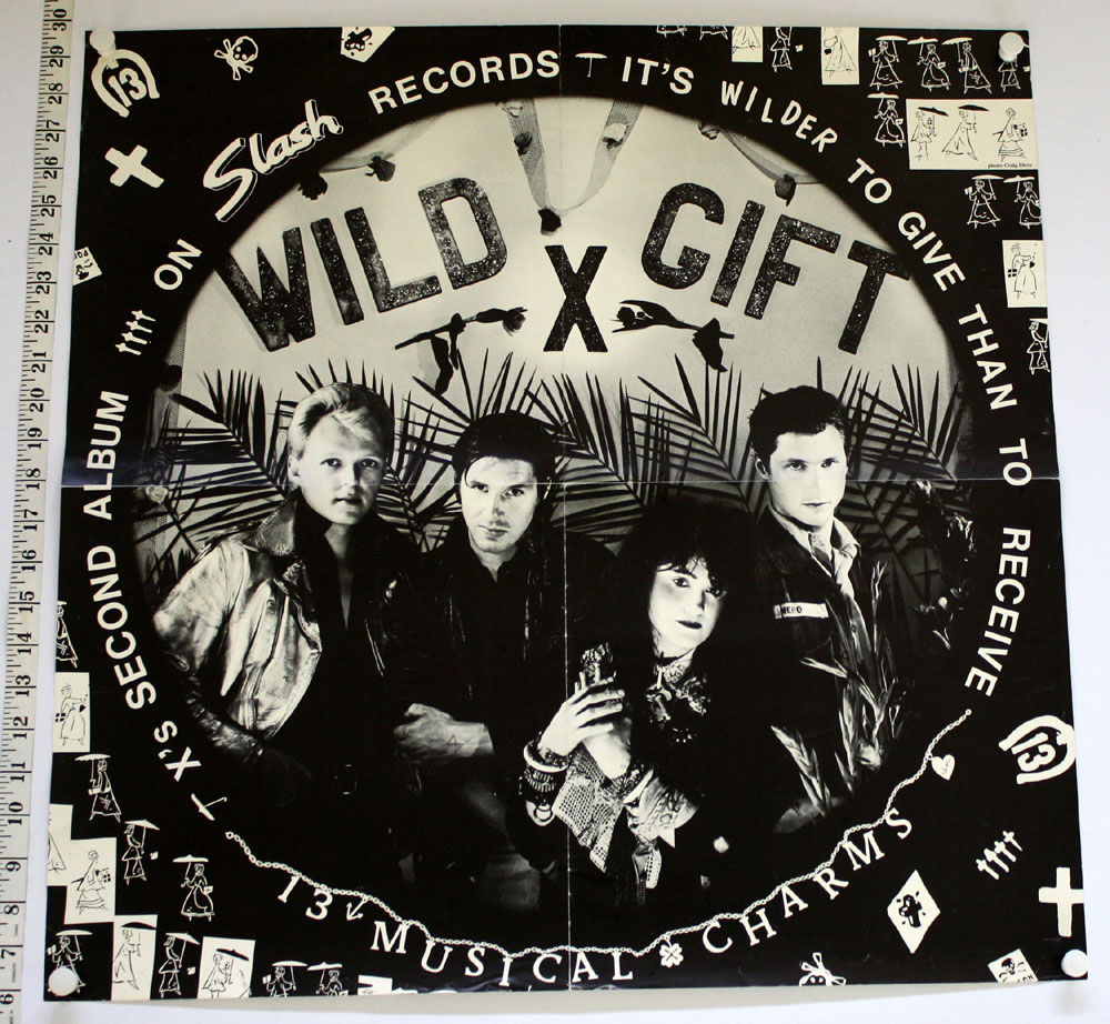 X ~ Wild Gift POSTER