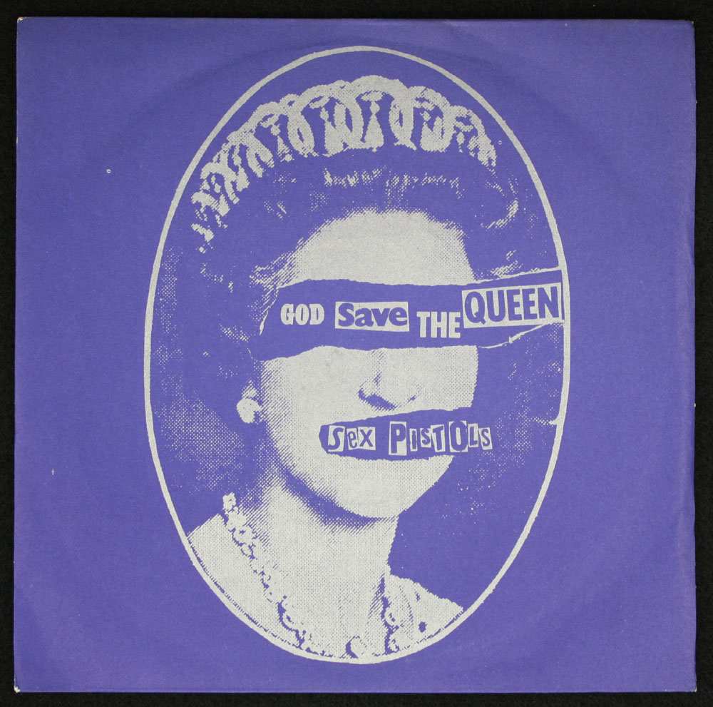 SEX PISTOLS ~ God Save The Queen 7in. (Virgin 1977)