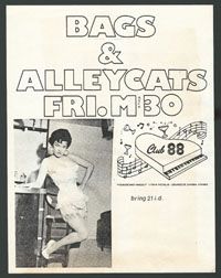 BAGS w/ Alley Cats at Club 88