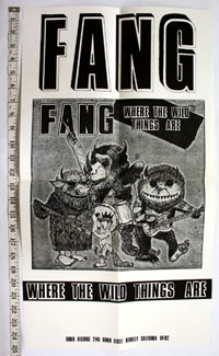 FANG Where The Wild Things Are POSTER