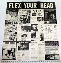 FLEX YOUR HEAD compilation POSTER