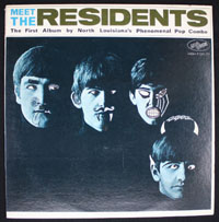 RESIDENTS ~ Meet The Residents LP (Ralph 1974)