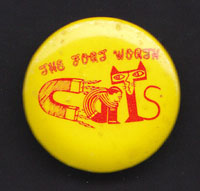 FORT WORTH CATS badge