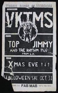 VKTMS w/ Top Jimmy & The Rhythm Pigs, Xmas Eve at Fab Mab #2