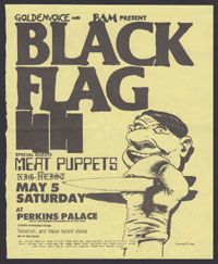 1984 ~ BLACK FLAG at Perkins Palace (LA)