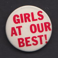 GIRLS AT OUR BEST badge #1