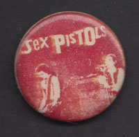 SEX PISTOLS badge #2