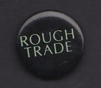 ROUGH TRADE badge