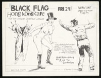 1979 ~ BLACK FLAG at Hong Kong Cafe (LA)