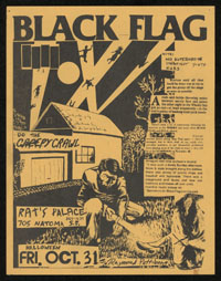 1980 ~ BLACK FLAG at Rat's Palace (SF)