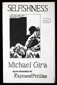 SELFISHNESS by Michael Gira