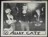 ALLEY CATS / DEAD KENNEDYS clipping