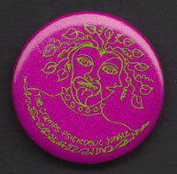 CRAMPS Psychedelic Jungle badge