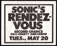 SONICS RENDEZVOUS BAND w/ Cubes at New Miami