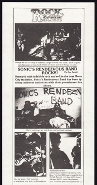 SONICS RENDEZVOUS BAND w/ Cubes, Flirt at The Silver Bird