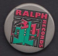 RALPH RECORDS badge