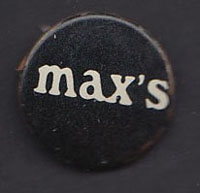 MAX'S KANSAS CITY badge #2