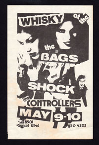 BAGS w/ Shock, Controllers at the Whisky