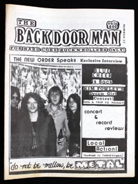 BACK DOOR MAN #03