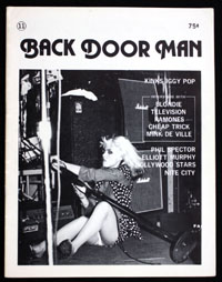 BACK DOOR MAN #11