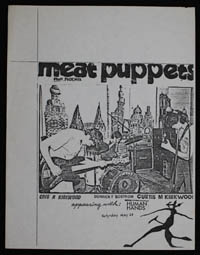 MEAT PUPPETS w/ Human Hands at Al's Bar #2
