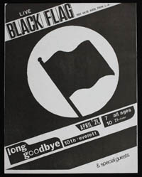 BLACK FLAG at Long Goodbye
