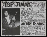 TOP JIMMY & THE RHYTHM PIGS in December 1981