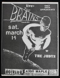 BRAINS w/ Judys at Hot Klub