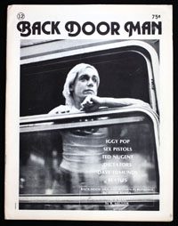 BACK DOOR MAN #12