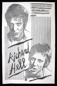 RICHARD HELL at Bookie's