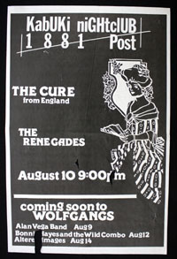 CURE w/ Renegades at Kabuki Nightclub