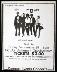B-52's w/ Fashion at UCLA #1