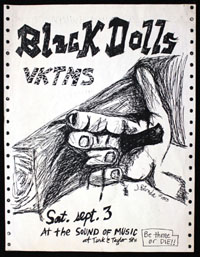 BLACK DOLLS w/ VKTMS at Sound of Music