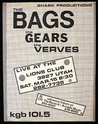 BAGS w/ Gears, Verves at North Park Lions Club