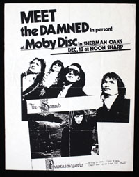 DAMNED at Moby Disc
