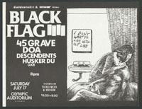 1982 ~ BLACK FLAG at Olympic Auditorium