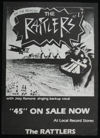 RATTLERS ~ On The Beach promo poster