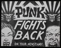 PUNK Fights Back flier