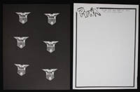 PUNK MAGAZINE stationery set