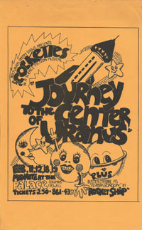 COCKETTES present Journey To The Center of Uranus