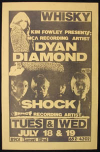 SHOCK w/ Dyan Diamond at the Whisky