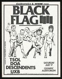 1982 ~ BLACK FLAG at Olympic Auditorium (LA)