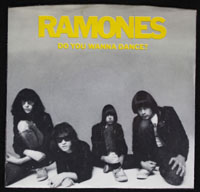 RAMONES ~ Do You Wanna Dance? EP (Sire 1978)